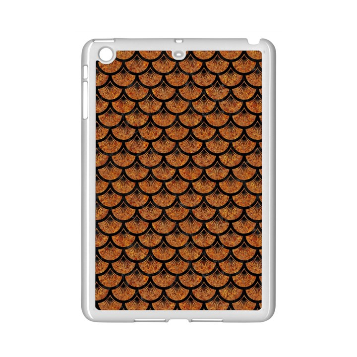 SCALES3 BLACK MARBLE & RUSTED METAL iPad Mini 2 Enamel Coated Cases