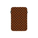 SCALES3 BLACK MARBLE & RUSTED METAL Apple iPad Mini Protective Soft Cases Front