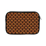 SCALES3 BLACK MARBLE & RUSTED METAL Apple iPad Mini Zipper Cases Front