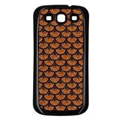 Scales3 Black Marble & Rusted Metal Samsung Galaxy S3 Back Case (black)
