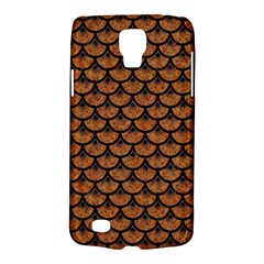 Scales3 Black Marble & Rusted Metal Galaxy S4 Active