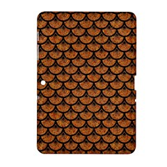 Scales3 Black Marble & Rusted Metal Samsung Galaxy Tab 2 (10 1 ) P5100 Hardshell Case