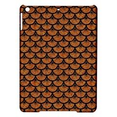 Scales3 Black Marble & Rusted Metal Ipad Air Hardshell Cases