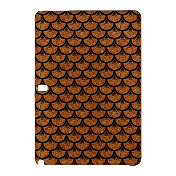 SCALES3 BLACK MARBLE & RUSTED METAL Samsung Galaxy Tab Pro 12.2 Hardshell Case