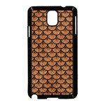 SCALES3 BLACK MARBLE & RUSTED METAL Samsung Galaxy Note 3 Neo Hardshell Case (Black) Front