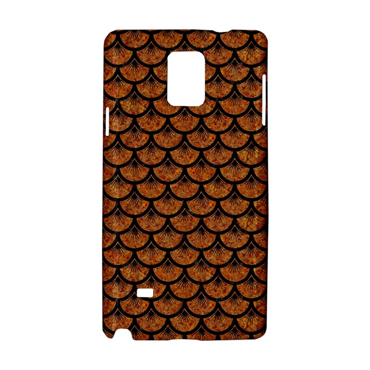 SCALES3 BLACK MARBLE & RUSTED METAL Samsung Galaxy Note 4 Hardshell Case