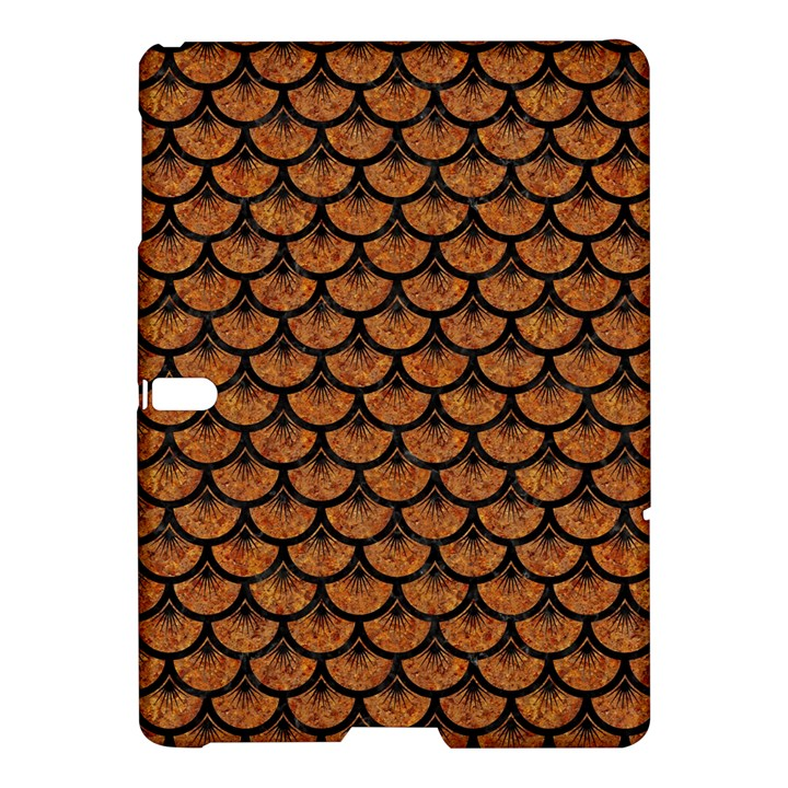 SCALES3 BLACK MARBLE & RUSTED METAL Samsung Galaxy Tab S (10.5 ) Hardshell Case