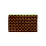 SCALES3 BLACK MARBLE & RUSTED METAL Cosmetic Bag (XS) Back