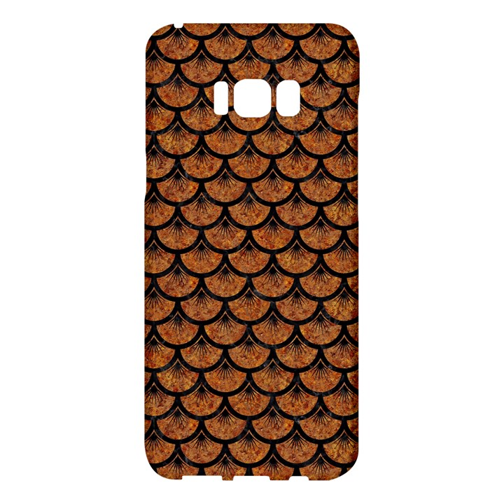 SCALES3 BLACK MARBLE & RUSTED METAL Samsung Galaxy S8 Plus Hardshell Case