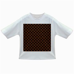 Scales3 Black Marble & Rusted Metal (r) Infant/toddler T Shirts