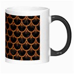 SCALES3 BLACK MARBLE & RUSTED METAL (R) Morph Mugs Right