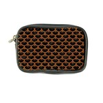 SCALES3 BLACK MARBLE & RUSTED METAL (R) Coin Purse Front