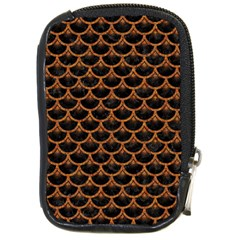 Scales3 Black Marble & Rusted Metal (r) Compact Camera Cases