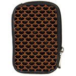 SCALES3 BLACK MARBLE & RUSTED METAL (R) Compact Camera Cases Front
