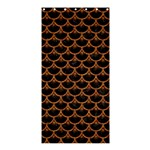 SCALES3 BLACK MARBLE & RUSTED METAL (R) Shower Curtain 36  x 72  (Stall)  33.26 x66.24 Curtain