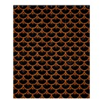 SCALES3 BLACK MARBLE & RUSTED METAL (R) Shower Curtain 60  x 72  (Medium)  54.25 x65.71 Curtain