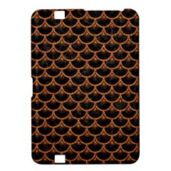 Scales3 Black Marble & Rusted Metal (r) Kindle Fire Hd 8 9