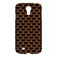 Scales3 Black Marble & Rusted Metal (r) Samsung Galaxy S4 I9500/i9505 Hardshell Case