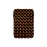 SCALES3 BLACK MARBLE & RUSTED METAL (R) Apple iPad Mini Protective Soft Cases Front