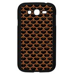 SCALES3 BLACK MARBLE & RUSTED METAL (R) Samsung Galaxy Grand DUOS I9082 Case (Black) Front