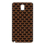 SCALES3 BLACK MARBLE & RUSTED METAL (R) Samsung Galaxy Note 3 N9005 Hardshell Back Case Front