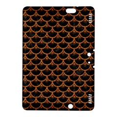 Scales3 Black Marble & Rusted Metal (r) Kindle Fire Hdx 8 9  Hardshell Case
