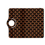 SCALES3 BLACK MARBLE & RUSTED METAL (R) Kindle Fire HDX 8.9  Flip 360 Case Front