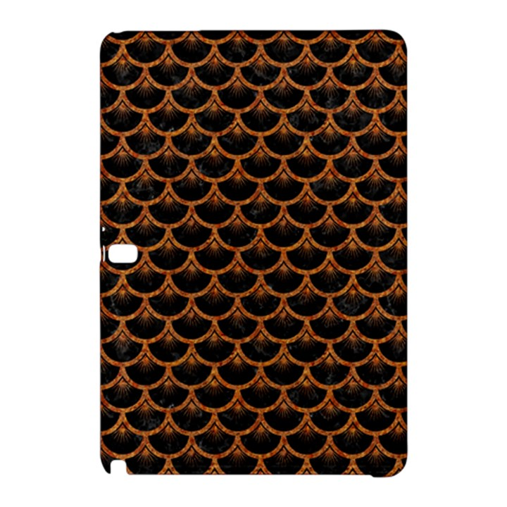 SCALES3 BLACK MARBLE & RUSTED METAL (R) Samsung Galaxy Tab Pro 12.2 Hardshell Case