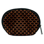 SCALES3 BLACK MARBLE & RUSTED METAL (R) Accessory Pouches (Medium)  Back