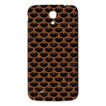 SCALES3 BLACK MARBLE & RUSTED METAL (R) Samsung Galaxy Mega I9200 Hardshell Back Case Front