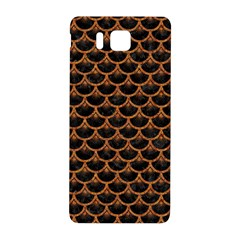 Scales3 Black Marble & Rusted Metal (r) Samsung Galaxy Alpha Hardshell Back Case