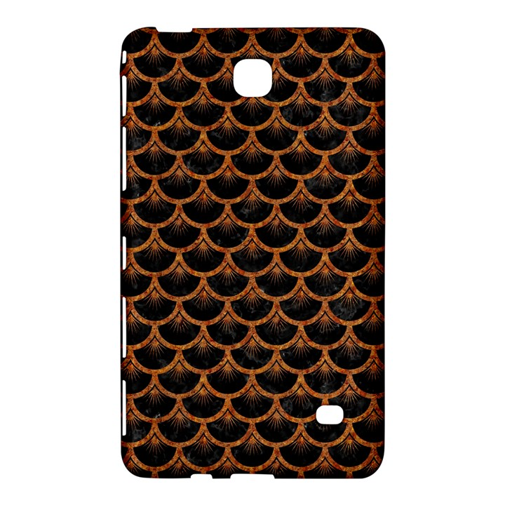 SCALES3 BLACK MARBLE & RUSTED METAL (R) Samsung Galaxy Tab 4 (8 ) Hardshell Case