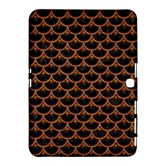Scales3 Black Marble & Rusted Metal (r) Samsung Galaxy Tab 4 (10 1 ) Hardshell Case