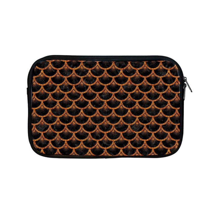 SCALES3 BLACK MARBLE & RUSTED METAL (R) Apple MacBook Pro 13  Zipper Case