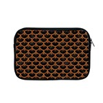 SCALES3 BLACK MARBLE & RUSTED METAL (R) Apple MacBook Pro 15  Zipper Case Front