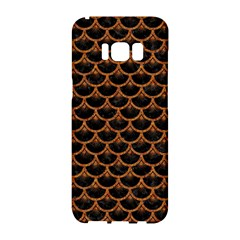 Scales3 Black Marble & Rusted Metal (r) Samsung Galaxy S8 Hardshell Case