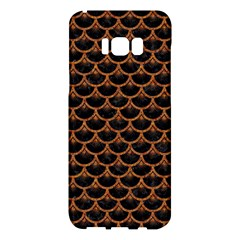 Scales3 Black Marble & Rusted Metal (r) Samsung Galaxy S8 Plus Hardshell Case