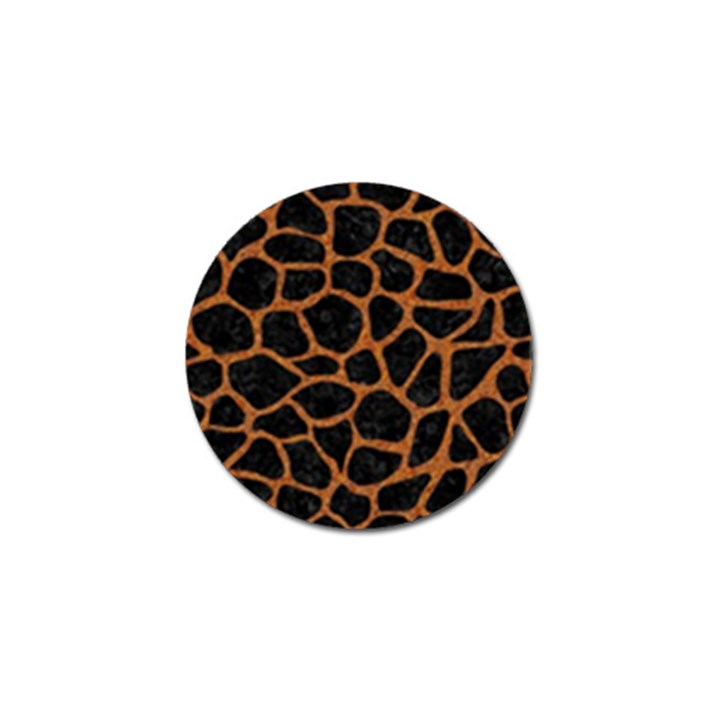 SKIN1 BLACK MARBLE & RUSTED METAL Golf Ball Marker (10 pack)