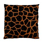 SKIN1 BLACK MARBLE & RUSTED METAL Standard Cushion Case (One Side) Front