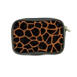 SKIN1 BLACK MARBLE & RUSTED METAL Coin Purse Back
