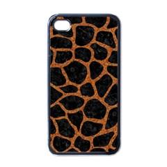 Skin1 Black Marble & Rusted Metal Apple Iphone 4 Case (black)