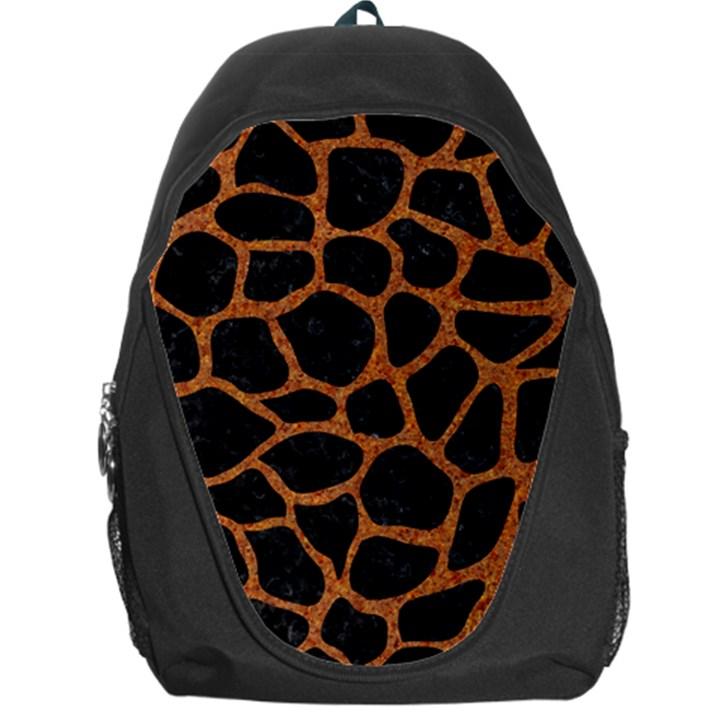 SKIN1 BLACK MARBLE & RUSTED METAL Backpack Bag