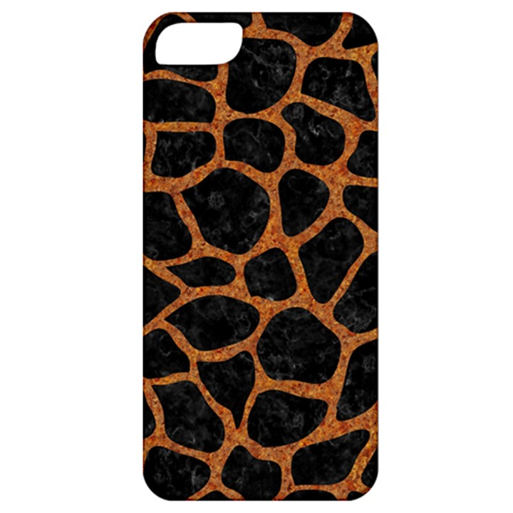 SKIN1 BLACK MARBLE & RUSTED METAL Apple iPhone 5 Classic Hardshell Case