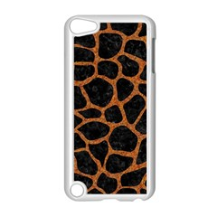 Skin1 Black Marble & Rusted Metal Apple Ipod Touch 5 Case (white)