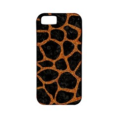 Skin1 Black Marble & Rusted Metal Apple Iphone 5 Classic Hardshell Case (pc+silicone)