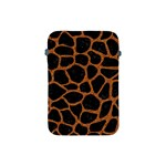 SKIN1 BLACK MARBLE & RUSTED METAL Apple iPad Mini Protective Soft Cases Front