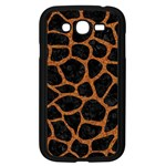 SKIN1 BLACK MARBLE & RUSTED METAL Samsung Galaxy Grand DUOS I9082 Case (Black) Front