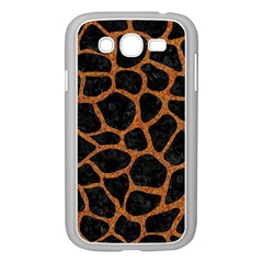 Skin1 Black Marble & Rusted Metal Samsung Galaxy Grand Duos I9082 Case (white)