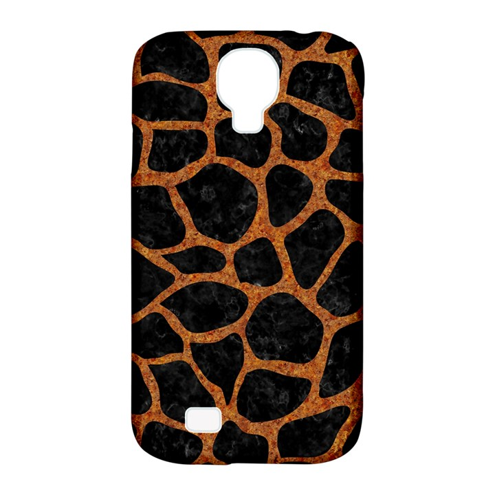 SKIN1 BLACK MARBLE & RUSTED METAL Samsung Galaxy S4 Classic Hardshell Case (PC+Silicone)