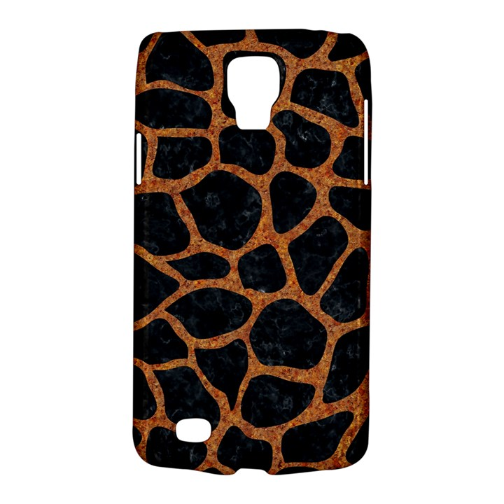 SKIN1 BLACK MARBLE & RUSTED METAL Galaxy S4 Active